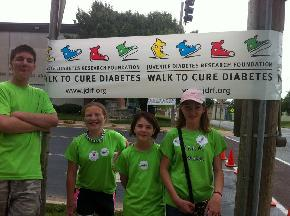 Team Emma 2012- Derrik, Addalli, Sami, and Emma