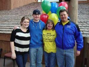 Our family at the 2012 Walk