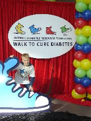 Please help support my walk to find a cure