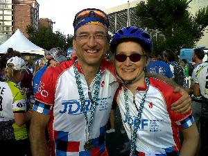 Coach David with his big sister Karen