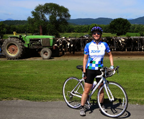 Me on last year's ride