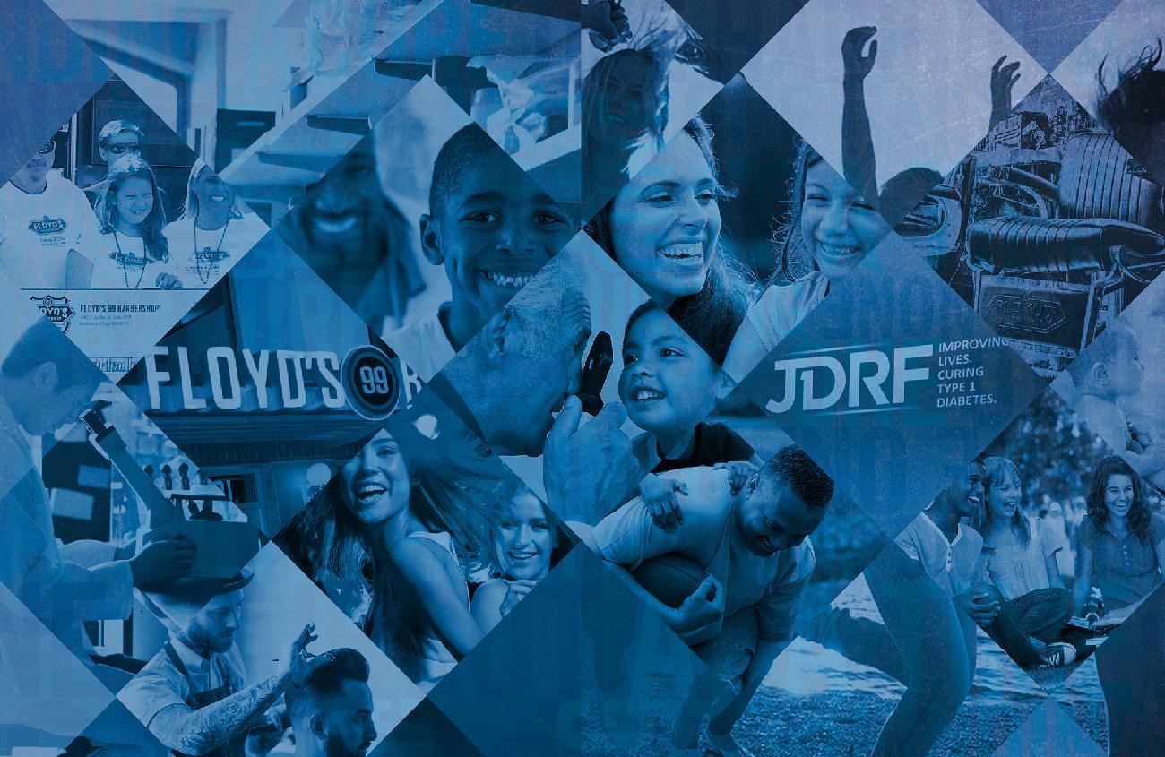 JDRF One Walk Denver 2018 Floyds 99 Barbershop